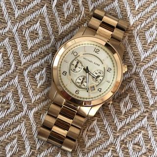 Michael Kors - マイケルコース / MICHAEL KORS 腕時計 ゴールド MK8077
