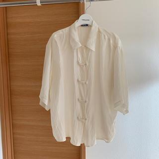 アメリヴィンテージ(Ameri VINTAGE)のnudevintage購入 vintage シルクチャイナシャツ(シャツ/ブラウス(長袖/七分))