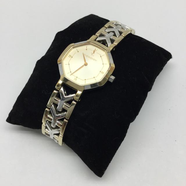 Yves Saint Laurent Beaute - YVES SAINT LAURENT 腕時計 ジャンク品の通販 by ライク's shop|イヴサンローランボーテならラクマ