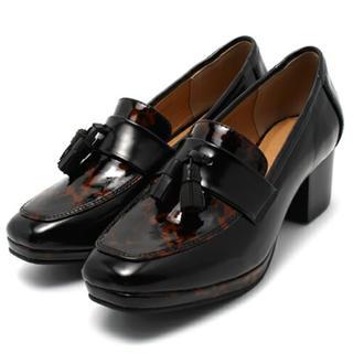 アングリッド(Ungrid)のUngrid レザーコンビローファー(ローファー/革靴)