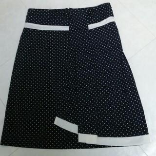 キャサリンハーネル ドット 水玉 スカート(ひざ丈スカート)