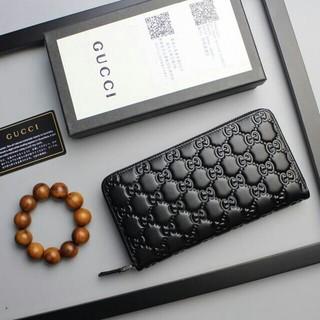 Gucci - グッチ 長財布 Gucci ブラック