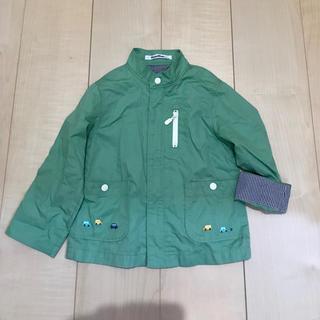 familiar - ファミリア  薄手羽織り ブルゾン 100サイズ