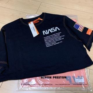 Heron Preston NASA Tシャツ