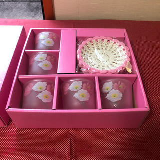 花柄冷茶 グラスセット   梅宮アンナ❤️
