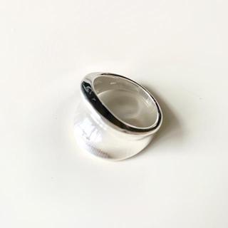 トゥデイフル(TODAYFUL)のno.134 新品 シルバー太めリング シルバー925 22号(リング(指輪))