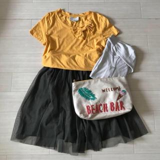 スリーワンフィリップリム(3.1 Phillip Lim)の3.1 phillip lim リボンTシャツ(Tシャツ(半袖/袖なし))