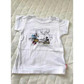 ブリーズ(BREEZE)のBREEZE ミッキー&ミニーTシャツ80サイズ(Tシャツ)