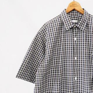 COMOLI - 【19ss/新品未使用】comoli ショートスリーブ シャツ タータンチェック