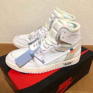 NIKE - 27.5CM AIR JORDAN 1 x OFF-WHITE NRG