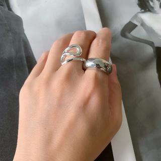 トゥデイフル(TODAYFUL)のno.135 シンプルデザイン シルバーリング 流行りリング 18号(リング(指輪))
