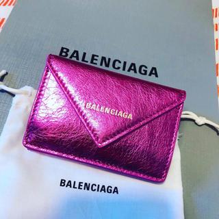 バレンシアガ(Balenciaga)のバレンシアガ ミニウォレット大人気完売間近ラスト1ピンク(財布)