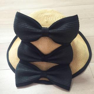 パメオポーズ(PAMEO POSE)のPAMEOPOSE♡猫耳麦わら帽子(麦わら帽子/ストローハット)