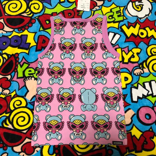 HYSTERIC MINI(ヒステリックミニ)のてでぃたんく🐻120㌢ キッズ/ベビー/マタニティのキッズ服 女の子用(90cm~)(その他)の商品写真