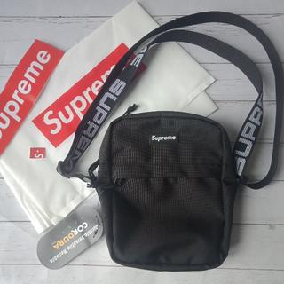 Supreme - Supreme  Shoulder Bag 18ss BLACK