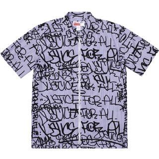 Supreme - supreme コムデギャルソン ジップアップシャツ