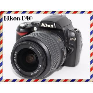 Nikon - 初心者さんにオススメ!Nikon D40レンズセット♡m82