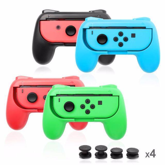 ジョイコンハンドル Nintendo Switch専用 Joy-Conハンドル  エンタメ/ホビーのゲームソフト/ゲーム機本体(家庭用ゲーム機本体)の商品写真