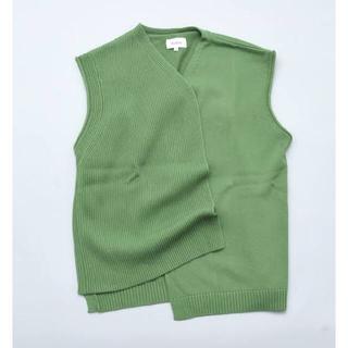 Jieda - kudos 19ss vest green (ベスト グリーン)