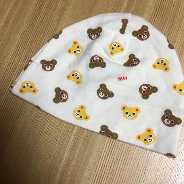 mikihouse(ミキハウス)のミキハウス☆42-46センチ☆帽子 キッズ/ベビー/マタニティのこども用ファッション小物(帽子)の商品写真