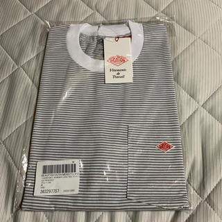 DANTON -  新品 DANTON ボーダーロゴTシャツ 40