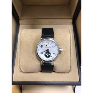 ルイヴィトン(LOUIS VUITTON)のルイヴィトン タンブール ラブリーカップ PM レディース 新品白いベルト付き(腕時計)