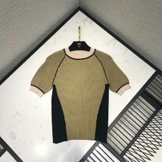 フェンディ(FENDI)のオシャレ!Fendi フェンディ 半袖 Tシャツ  ニット レディース(Tシャツ/カットソー(半袖/袖なし))