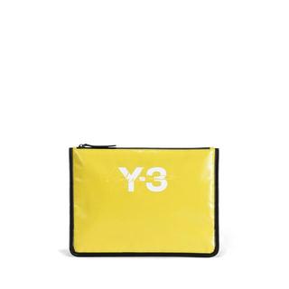ワイスリー(Y-3)の【ラスト1点❗️❗️ 新品】Y-3 クラッチバッグ イエロー(セカンドバッグ/クラッチバッグ)