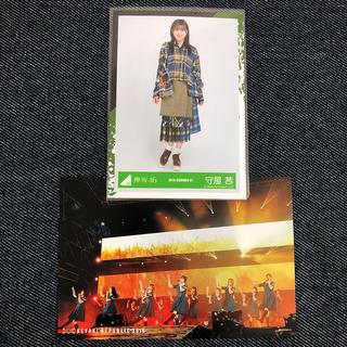 欅坂46 欅共和国 ポストカード、守屋茜 生写真