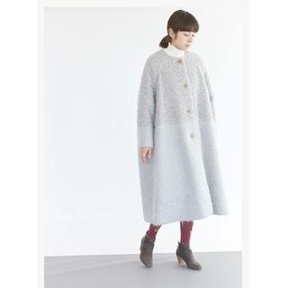 mina perhonen - mina perhonen ミナペルホネン sweet sheep コート
