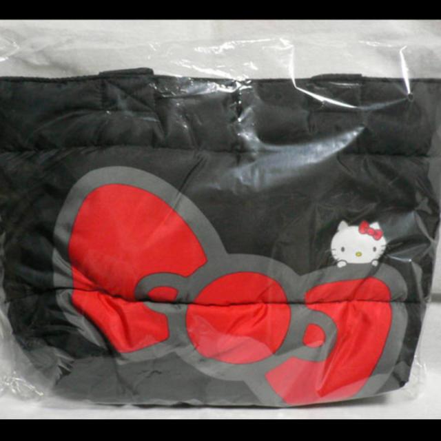ハローキティ(ハローキティ)のキティちゃん トートバッグ エンタメ/ホビーのおもちゃ/ぬいぐるみ(キャラクターグッズ)の商品写真