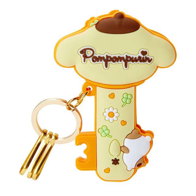 ポムポムプリン クリップ付きバッグインキーホルダー レディースのファッション小物(キーホルダー)の商品写真