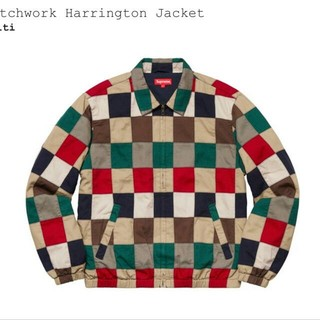 Supreme - Supreme Patchwork Harrington Jacket