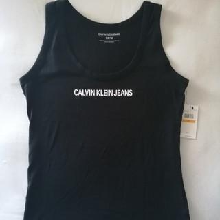Calvin Klein - カルバン・クライン レディース タンクトップ ブラック(S)
