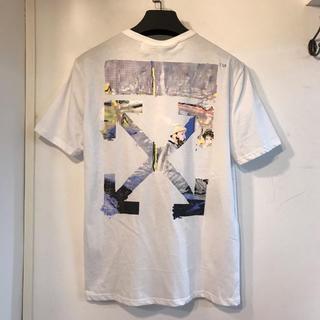 OFF-WHITE - OFF WHITE Tシャツ 半袖 男女兼用