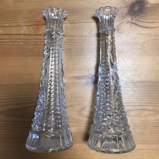 ファイヤーキング(Fire-King)のFire King ファイヤーキング アンカーホッキング花瓶 フラワーベース (花瓶)