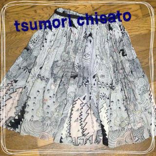 ツモリチサト(TSUMORI CHISATO)のtsumori chisato☆スカート(ひざ丈スカート)