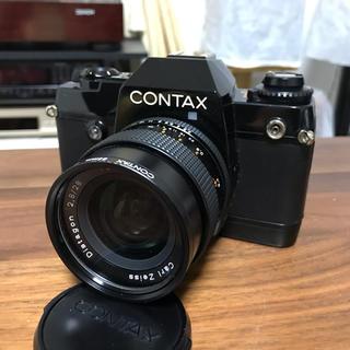 京セラ - コンタックス137MD QUARTZ 28mm、135mmレンズ2本付き