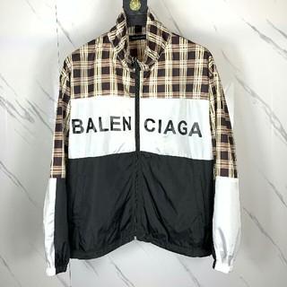 バレンシアガ(Balenciaga)のバレンシアガ ジャケット ブルゾン 薄手 カッコイイ 切り替え M(その他)