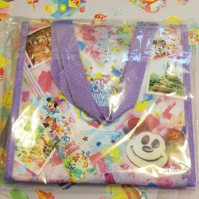 Disney(ディズニー)の35周年 グランドフィナーレ ランチケース 保冷バッグ ディズニー スーベニア エンタメ/ホビーのおもちゃ/ぬいぐるみ(キャラクターグッズ)の商品写真