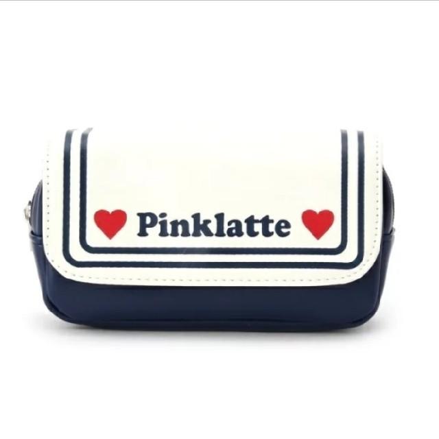 PINK-latte(ピンクラテ)のピンクラテ セーラーポーチ レディースのファッション小物(ポーチ)の商品写真