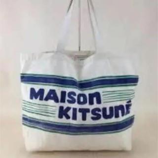 MAISON KITSUNE' - メゾンキツネ KITSUNE ロゴ トートバッグ