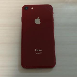 iPhone - iPhone8 64GB SIMフリー レッド 超美品