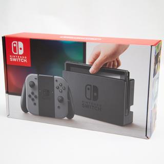 ニンテンドースイッチ(Nintendo Switch)のNintendo Switch Joy-Con (L) / (R) グレー(家庭用ゲーム機本体)