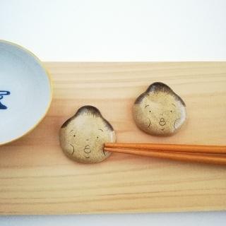 お相撲さん 箸置きセット たらこ唇(キッチン小物)
