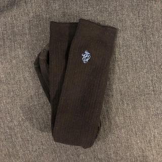 品川女子学院 冬靴下