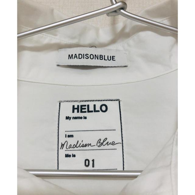 MADISONBLUE(マディソンブルー)のマディソンブルー  レディースのトップス(シャツ/ブラウス(長袖/七分))の商品写真