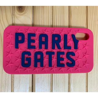 パーリーゲイツ(PEARLY GATES)のパーリーゲイツ  iphon Ⅹ ケース(iPhoneケース)