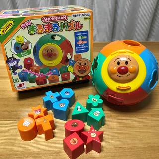 アンパンマン - アンパンマン玩具 まるまるパズル 型はめ