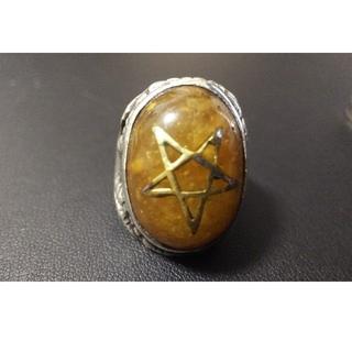 ラルクアンシエル(L'Arc~en~Ciel)の明日まで値下対応ALEXSTREETER Old umber Ring 925(リング(指輪))